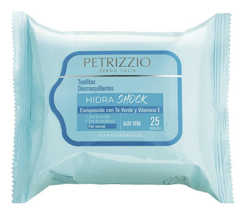 Toallitas Desmaquillantes Hidra Shock Petrizzio