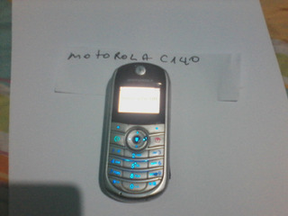 Celular Motorola C 140 Desbloquea Original Leia O Anuncio