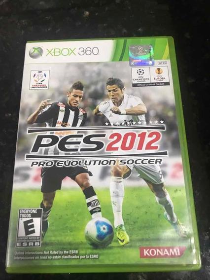 Jogo Xbox 360 Pes 2012 Original Mídia Física