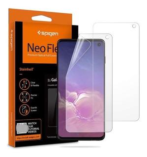 2 Und- Película Spigen Flexível Neo Flex - Galaxy S10