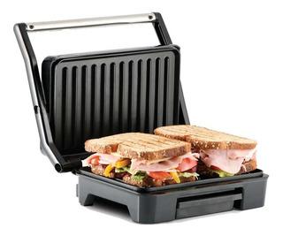 Parrilla Grill Taurus Tostare 850w Antiadherente Acero
