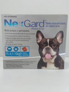 Nexgard Antipulgas Y Garrapatas Para Perros De 4,1 A 10 Kg