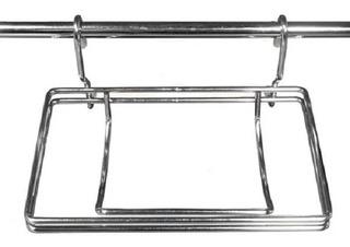 Porta Rollo De Colgar Para Barral- 1 Rollo - Soldart-cromado