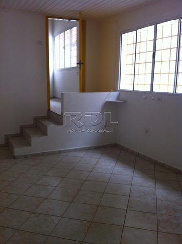 Casa Para Aluguel, 2 Quartos, 1 Vaga, Centro - Santo André/sp - 277