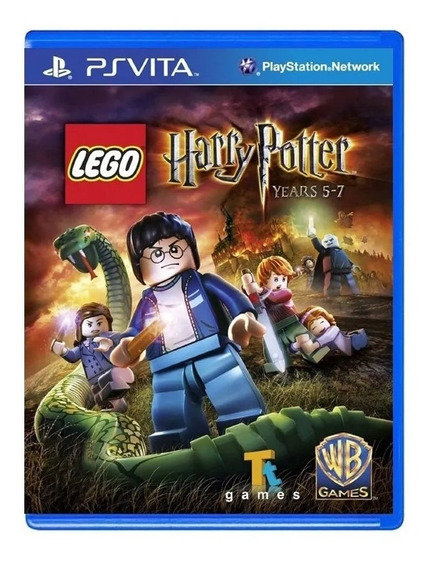Game Lego: Harry Potter Years 5-7 Ps Vita Lacrado Original