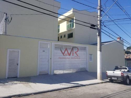 Sobrado Com 2 Dormitórios À Venda, 60 M² Por R$ 300.000,00 - São Miguel Paulista - São Paulo/sp - So0609