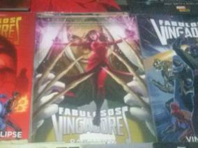 Fabulosos Vingadores Nova Marvel 4 Encadernados+poster