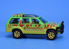 Carro Jurassic Park Ford Explorer Verde Matchbox Original