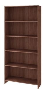 Mueble Librero Castaño 5 Niveles Bl 01a-164