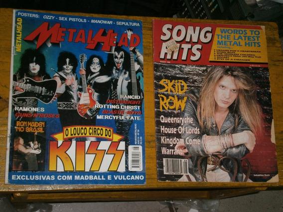 20 Revistas De Rock Em Geral Por R$ 50,00