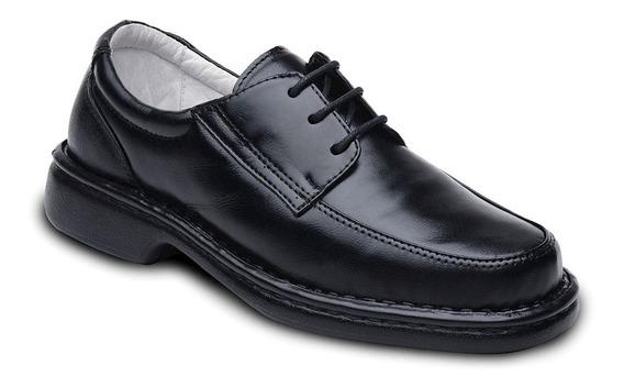Sapato Anti Stress Social Masculino Pelica Amarrar