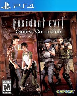 Resident Evil 0 Hd + Resident Evil Hd ~ Ps4 Digital Español