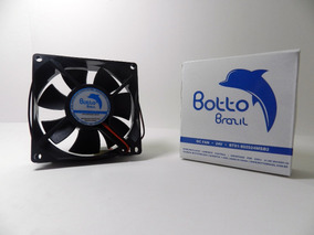 Micro Ventilador 80x80x25 Mm Fan Cooler 24v Dc Mini 8cm 80mm