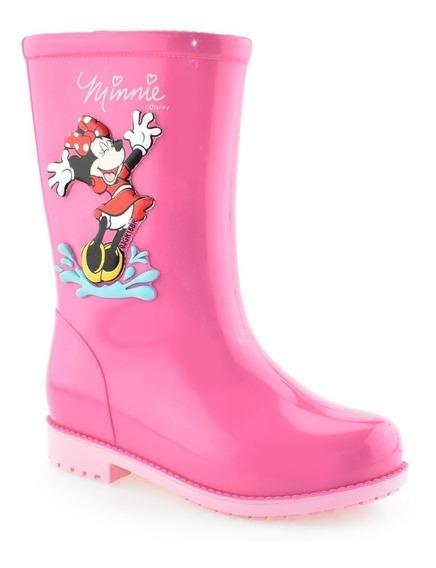 Galocha Infantil Menina Disney Minie Fashion 21753 Grendene