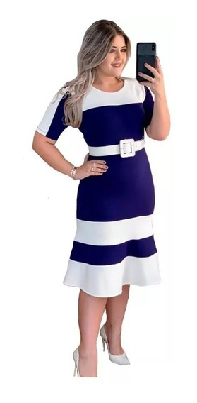 Vestido Evangélico Longuete Roupas Femininas