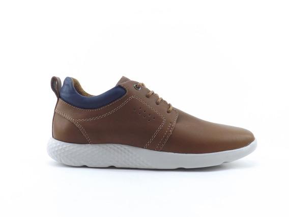 Zapatillas Zapato Marsanto Casual Urbana Hombre Cuero Comoda
