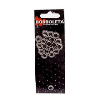 Argolas Split Ring Inox Borboleta P/ Isca Nº 4 80lbs 7,0mm