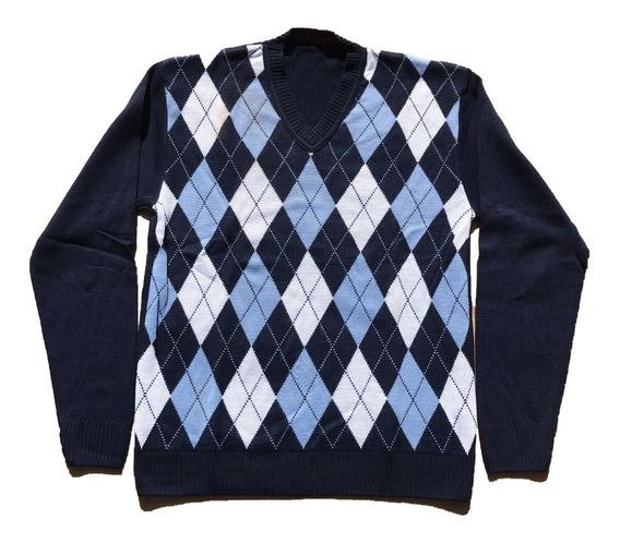 Kit 3 Blusas Masculina Lã Trico Várias Cores Frete Grátis