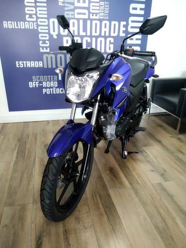 Fazer Ys 150 Ubs Yamaha 2022 0km Azul