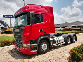 Scania R440 6x2 12/12, Highline, Opticruise,vermelha - Linda