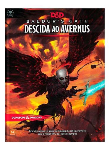 Livro D&d Baldur's Gate Descida Ao Avernus 5°ed Rpg Dnd007
