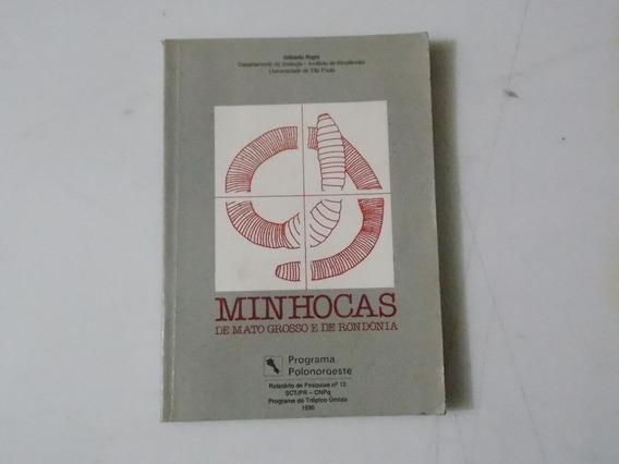 Livro - Minhocas De Mato Grosso E Rondônia