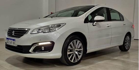 Peugeot 408 Feline 1.6 Thp Tiptronic 2018 Blanco 4 Puertas