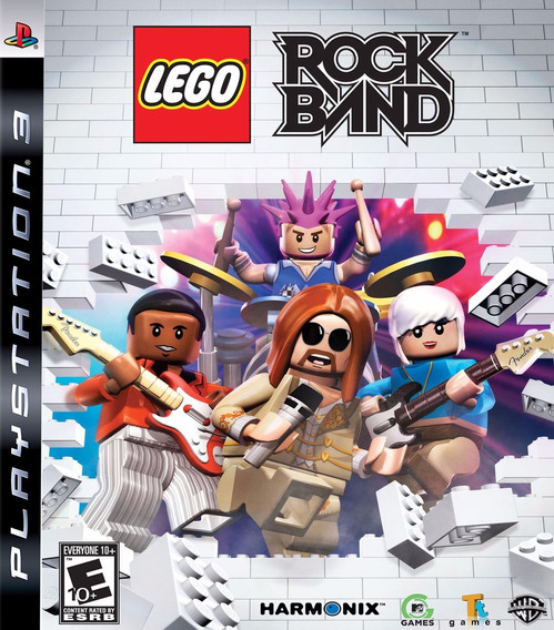 Lego Rock Band Ps3 - Midia Física   Com Garantia Playgorila
