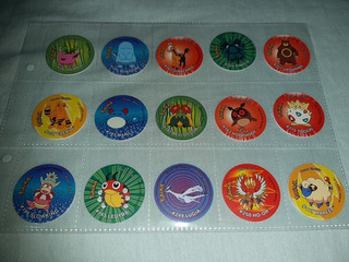 Taps Pokemon Tazos Smiths Chipy No Winter Bona Krimpi Taps 1