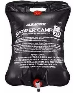 Bolsa Shower Chuveiro Camping Albatroz Água Quente 20 Litros