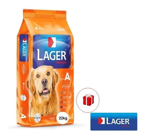 Imagen 1 de 2 de Alimento  Perro Adulto Lager 22 + Regalo Ciudad De La Costa