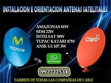 Serv. Instalación De Antenas Satelitales