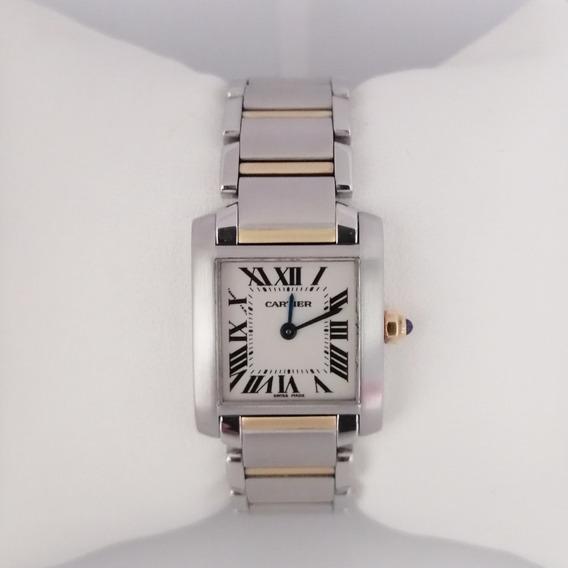 Reloj Dama Cartier Tank Francaise 2384 Original