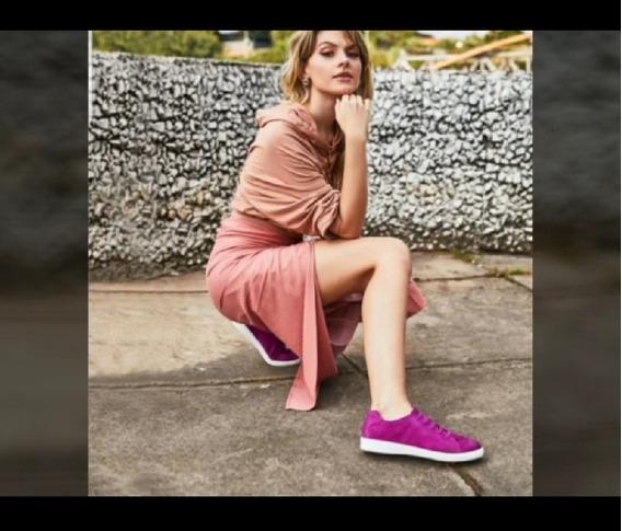 Marina Mello - Tenis C/palmilha Em Gel Pink