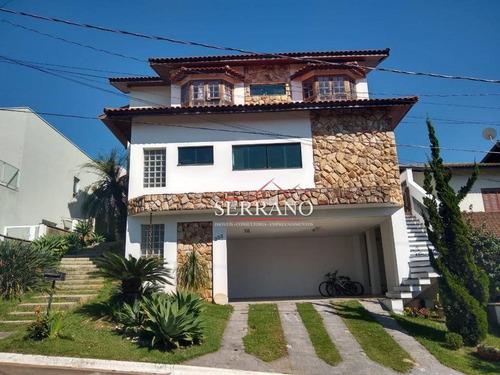 Casa Com 5 Dormitórios À Venda, 377 M² Por R$ 1.164.000,00 - Condomínio Villagio Capriccio - Louveira/sp - Ca0697