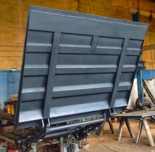 Plataforma Elevatoria Carga 1.500kg Ford Volks Iveco Mb Hd