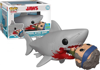 Funko Pop Sdcc 2019 760 Jaws Eating Quint Deluxe