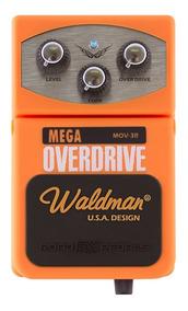 Pedal Distorção Waldman Mega Overdrive Mov-3r P/ Guitarra Nf