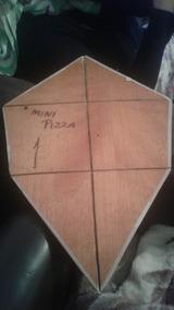 Gabarito Pipa Mini Pizza 45cm