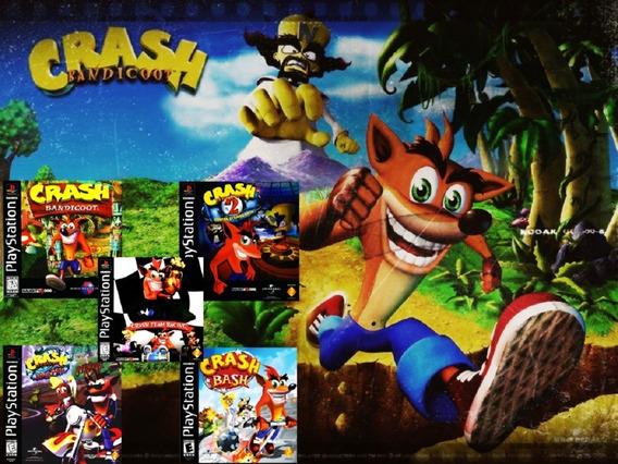 Crash Bandicoot Kit Coleção 10 Jogos Ps2 No Usb