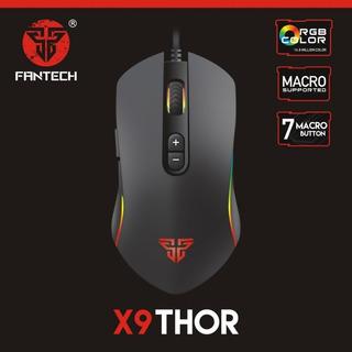Mouse De Juegos Gamer Fantech X9 Thor Alambrico 7 Botones