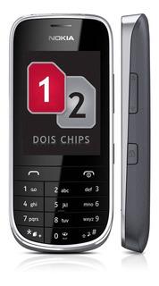 Celular Nokia De 2 Chip Asha 202 Usado Bom Estado Frete Grat