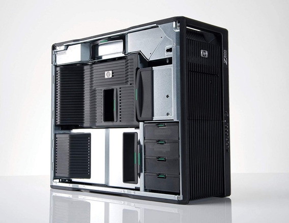 Hp Workstation Z800 12 Core 24gb Ram 1tb Hd Vídeo Amd 1gb