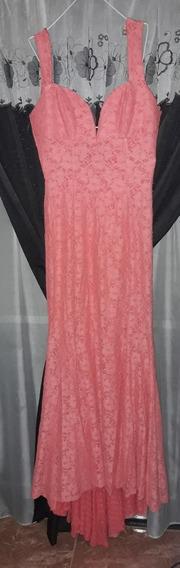 Vestido De Fiesta Color Salmon
