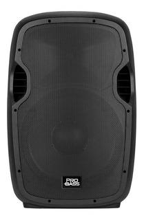 Parlante Bafle Potenciado Pro Bass Elevate 115 Bluetooth Usb