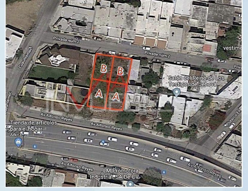 Imagen 1 de 10 de Terreno Residencial En Venta En Tampiquito, San Pedro Garza