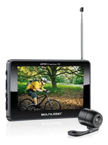 Gps Automotivo Multilaser Tela 4.3 Tv Digital + Câmera De Ré