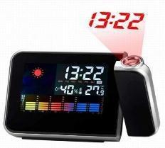 Reloj Despertador Con Proyeccion Led De Hora