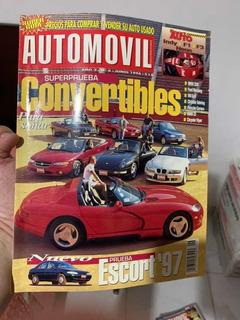 Revista Automóvil Panamericano Colección, 18 Años