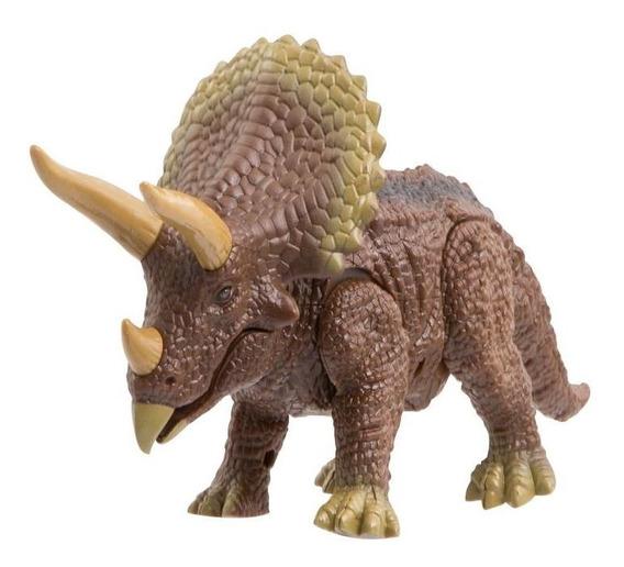 Dinosaurio Realista Triceratop Radio Control Discovery Kids
